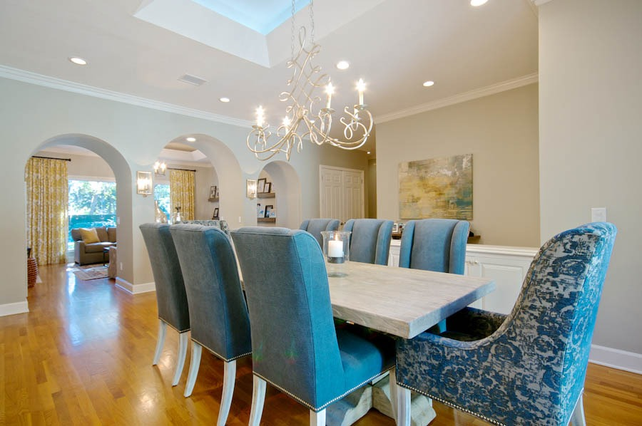 Jacksonville Interior Decorator Linford Lane Home Kishek Interiors Dining 8 Epping Forest Home