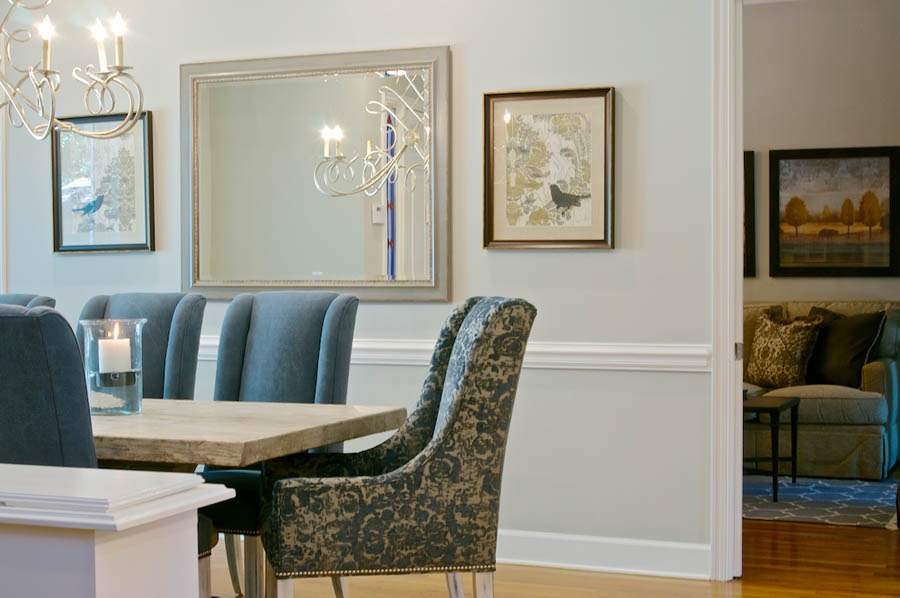 Jacksonville Interior Decorator Linford Lane Home Kishek Interiors Dining Epping Forest Home